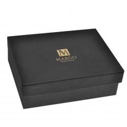 Eleganckie pudełko prezentowe 30,5x21x9,5cm czarne