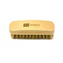 Margo, szczotka do polerowania,  11,5 cm, 100% szczecina, drewno