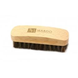 Margo, szczotka do polerowania,  11,5 cm, 100% końskie włosie, drewno