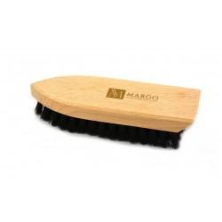 Margo, Szczotka do czyszczenia butów 16x5cm,  polipropylen, drewno bukowe