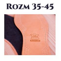 Skórzane wkładki do butów Cuir Luxe SAPHIR