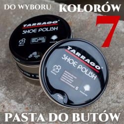 Tarrago Shoe polish pasta z woskiem pszczelim 100ml - 7 kolorów do wyboru