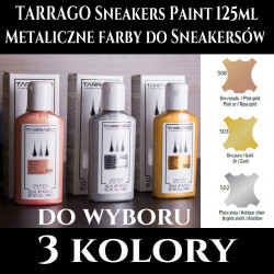 TARRAGO Sneakers Paint Metallic Colors 125ml